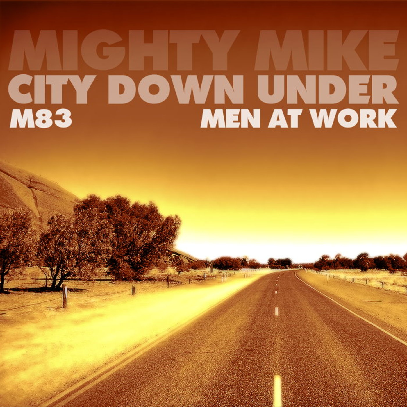 City down under (Men At Work / M83) (2012)