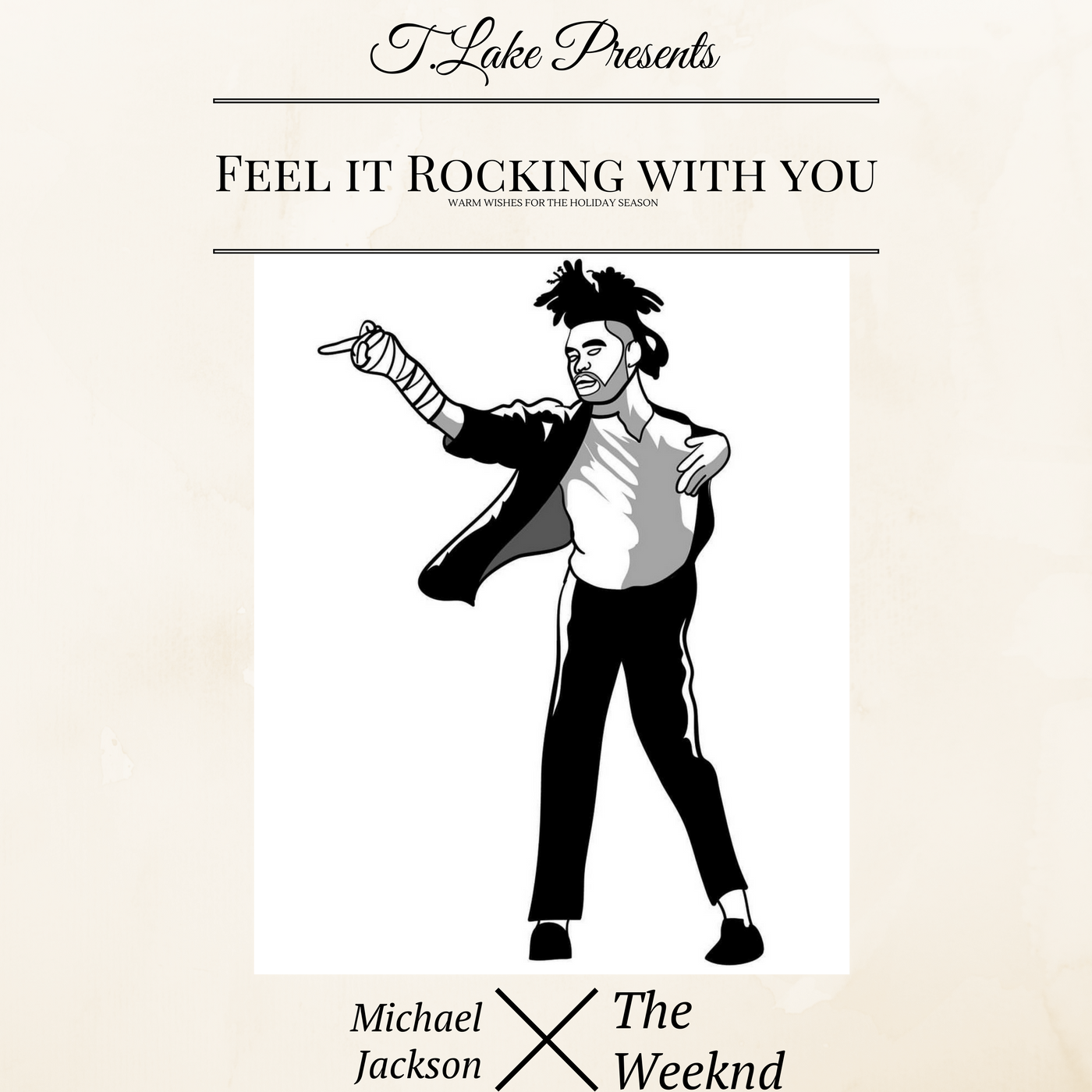The Weeknd x Michael Jackson - Feel It Rocking with You (T.Lake Mashup)