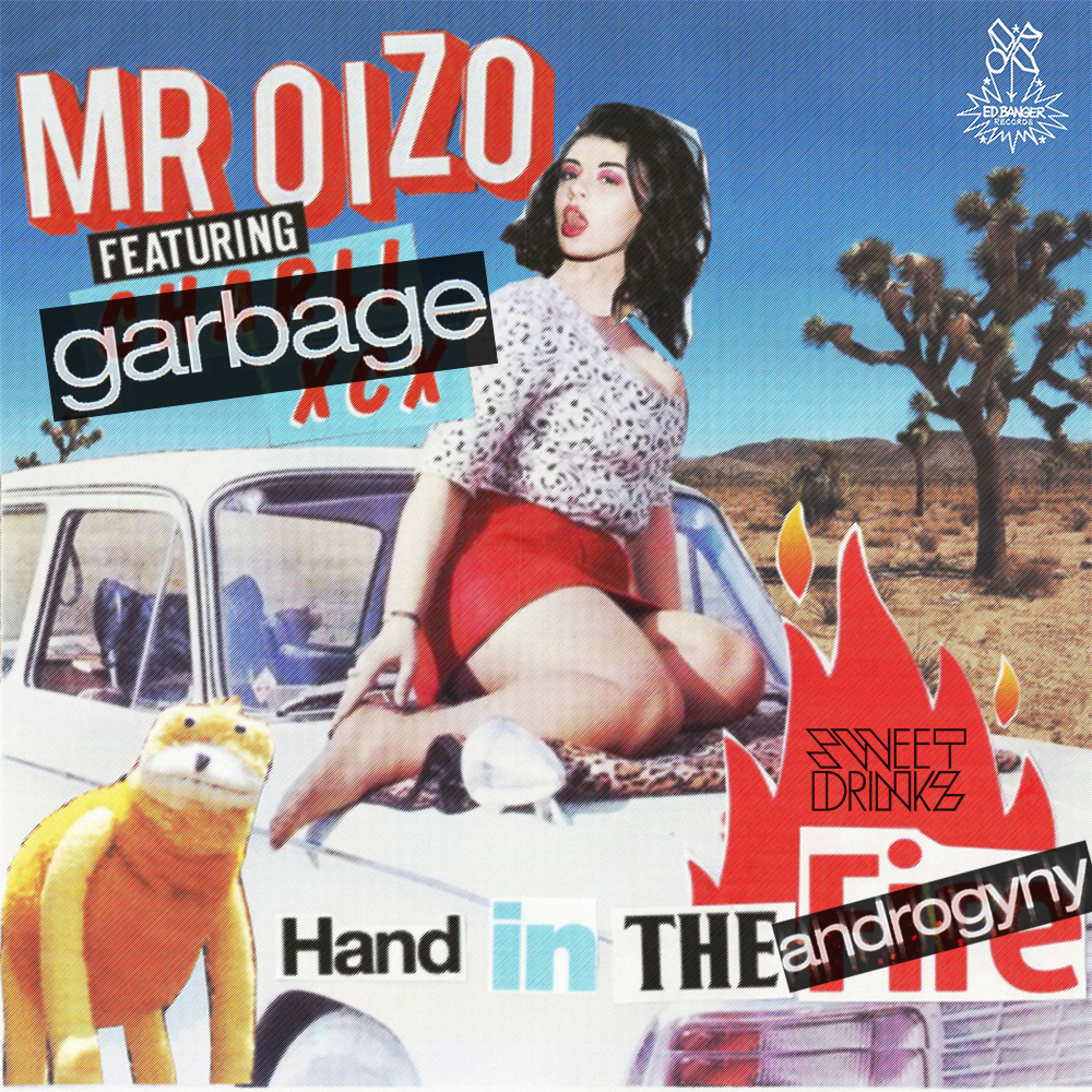 Mr. Oizo vs. Garbage - Hand In The Androgyny (Sweet Drinkz Mash Up)