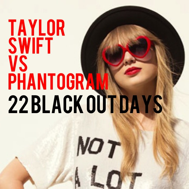 Taylor Swift vs. Phantogram - 22 Black Out Days