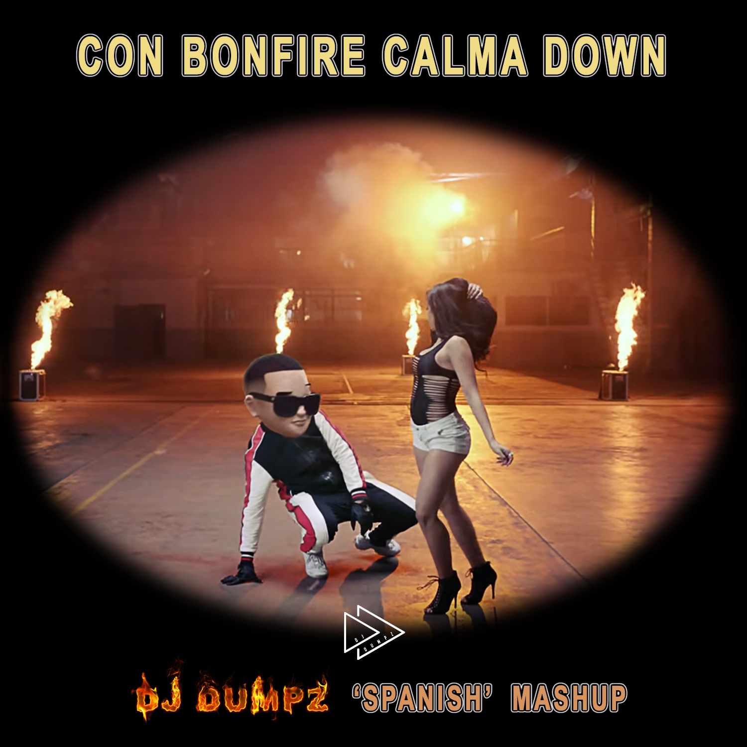 Daddy Yankee ft Snow vs Chainsmokers vs Knife Party - Con Bonfire Calma Down (DJ Dumpz Mashup)
