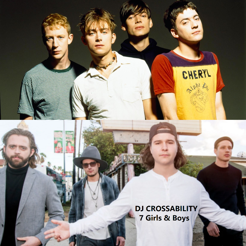 DJ CROSSABILITY - 7 Girls & Boys (Blur vs. Lukas Graham)