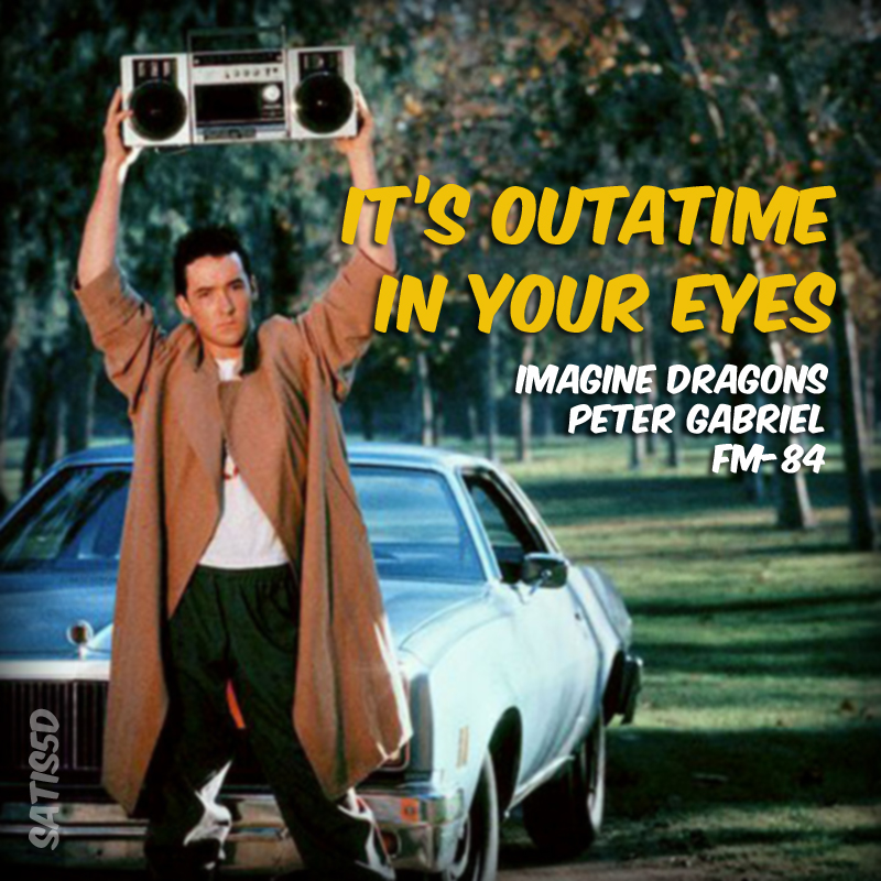 It's Outatime In Your Eyes (Imagine Dragons vs. Peter Gabriel vs. FM-84)