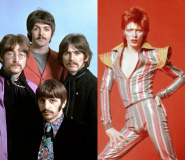 THE BEATLES - DAVID BOWIE  All you need is five years (DoM mashup)