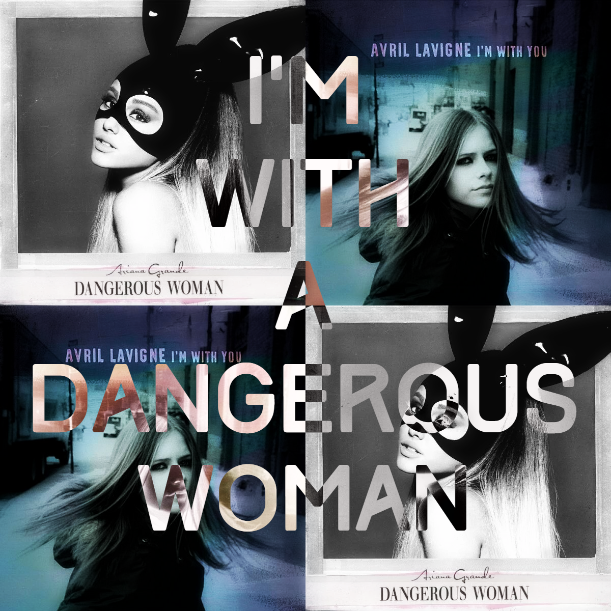 Ariana Grande vs. Avril Lavigne - I'm With a Dangerous Woman (SimGiant Mash Up)