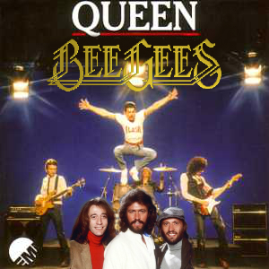 """""""Another One Stayin' Alive"""" (Queen vs. Bee Gees)"""