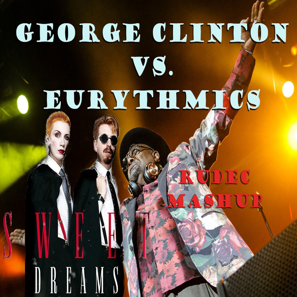 Eurythmics - Sweet Dreams (but it's playing George Clinton - Man's Best Friend)