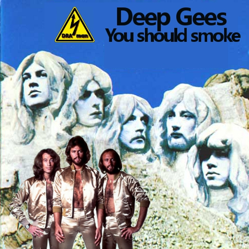 The Bee Gees Vs. Deep Purple - You should smoke (2020 version)