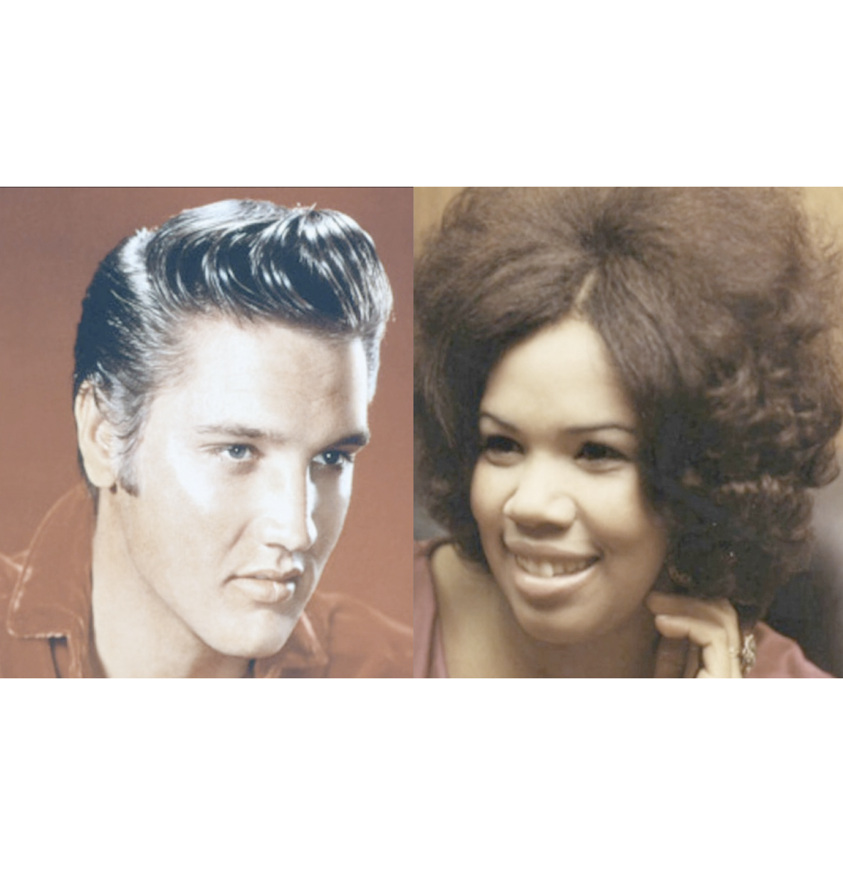 ELVIS PRESLEY - CANDI STATON  In the ghetto (cover mashup by DoM)