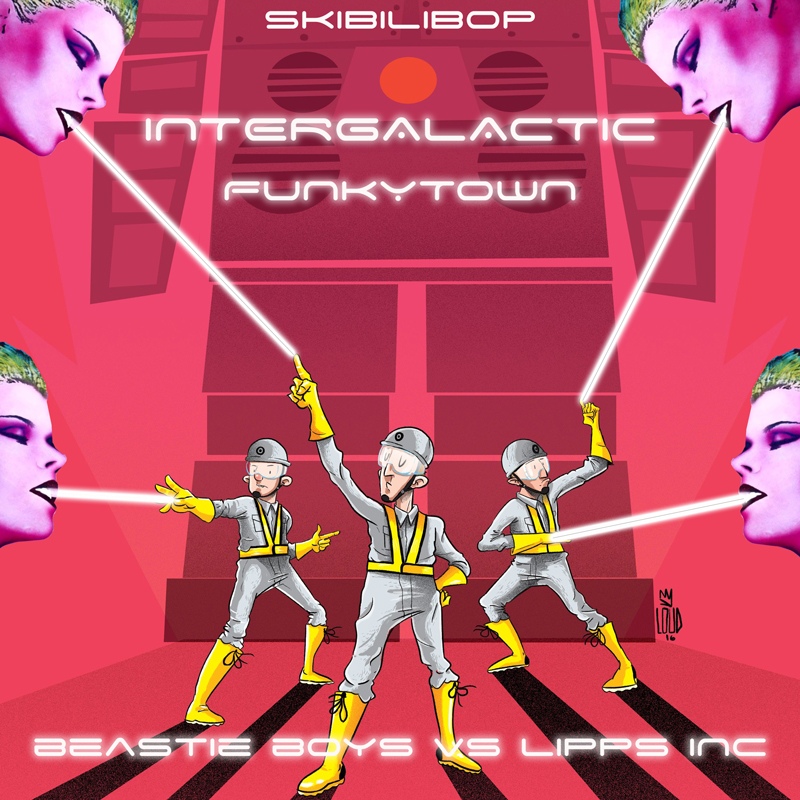 Intergalactic FunkyTown (Beastie Boys vs Lipps Inc.)