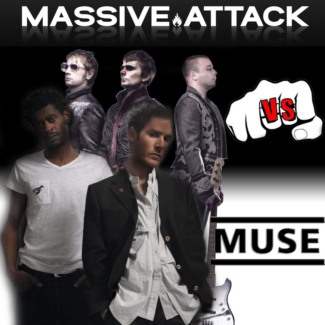 Massive Attack - Teardrop (but it's playing Muse - Liquid State)