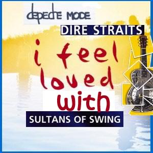 I feel loved with sultans of swing (Depeche Mode vs Dire Straits) - 2009