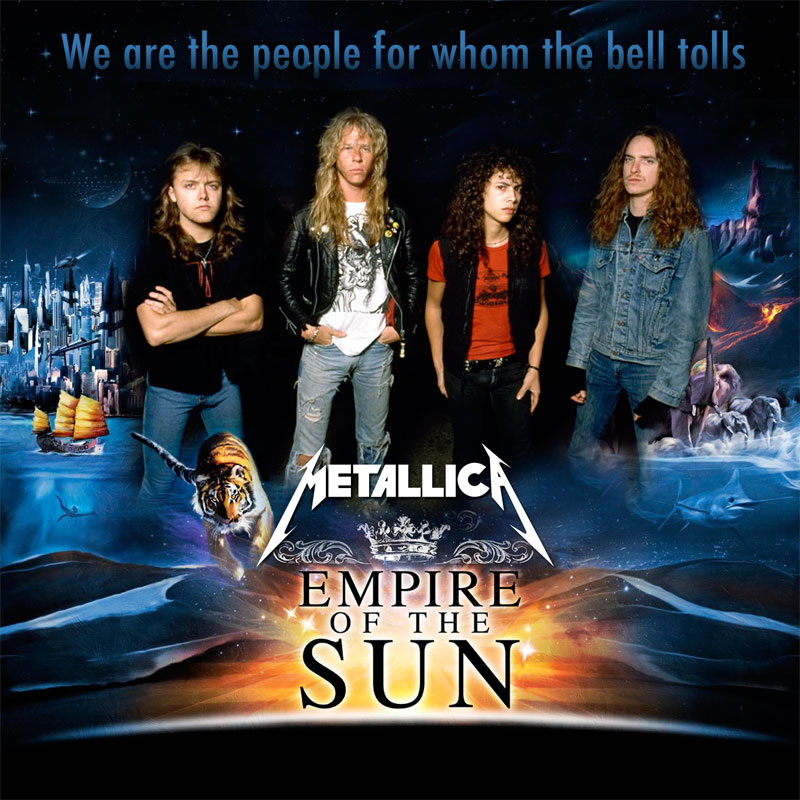 We are the people for whom the bell tolls (Metallica VS Empire of the sun) (2010)
