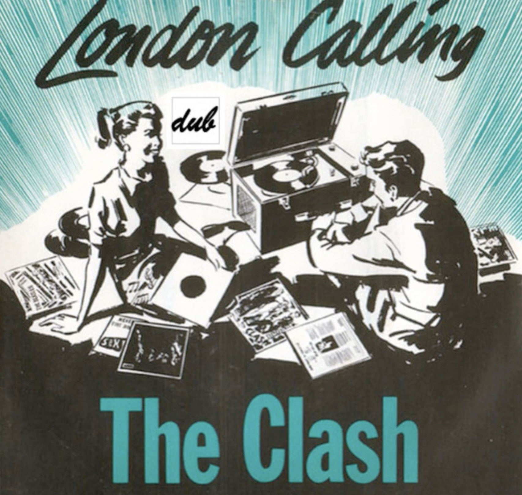 THE CLASH  London calling (dub version) (DoM)