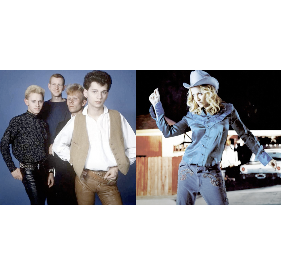 DEPECHE MODE - MADONNA  Just can't get enough of music (mashup by DoM)