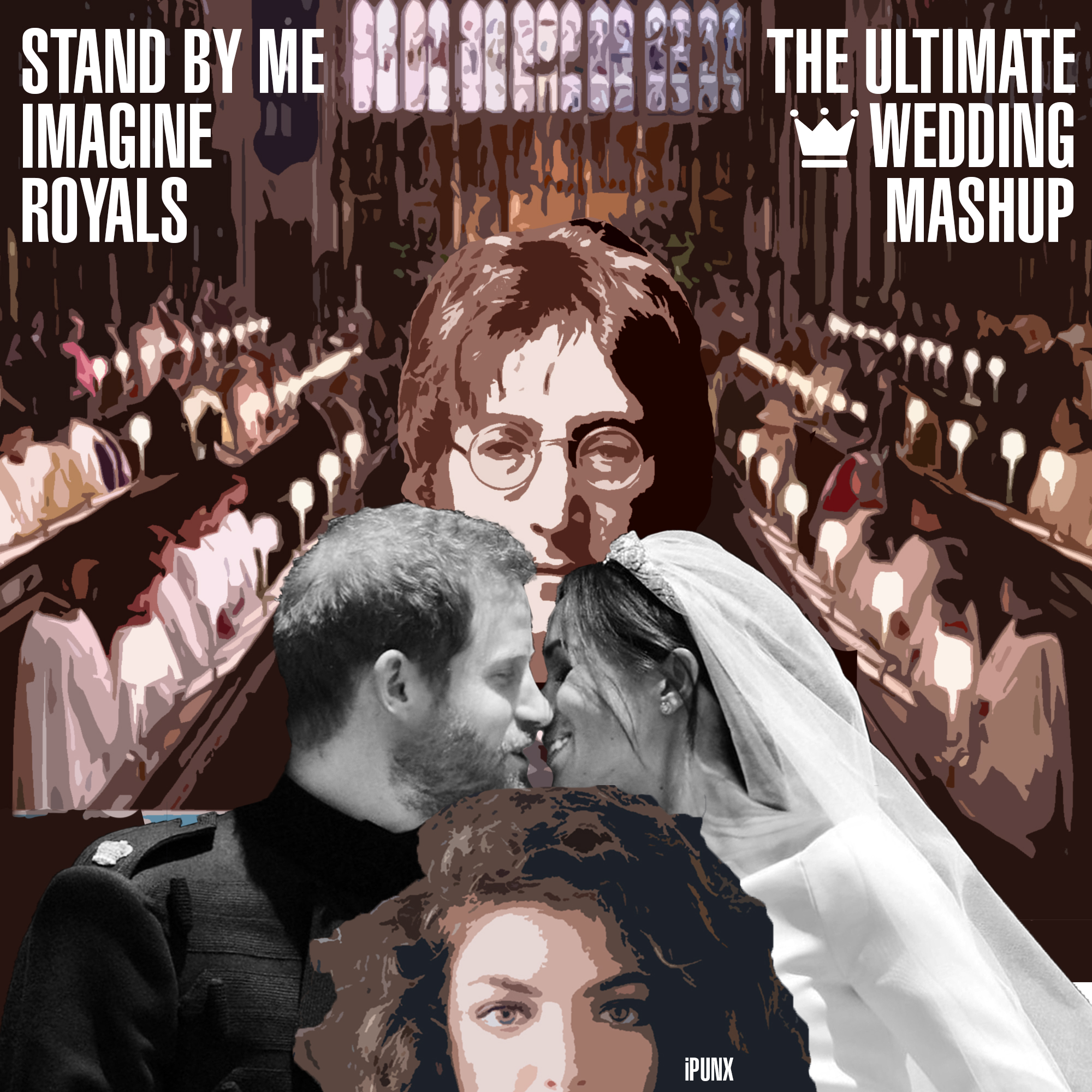 The Ultimate Royal Wedding Mashup (Stand By Me vs Imagine vs Royals)
