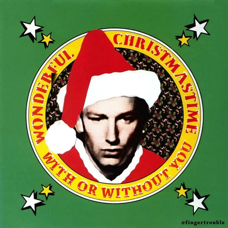 a wonderful xmas time, with or without you