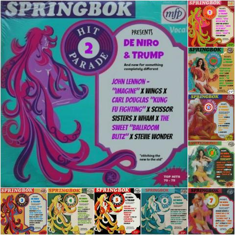 DE NIRO & TRUMP 32 - And now for something completely different #SPRINGBOK Hit Parade 02