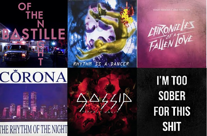 Chronicles of a perfect night - (Bastille vs Snap! vs Gossip vs Corona vs The Bloody Beetroots)