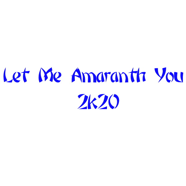 Nightwish vs. Ne-Yo - Let Me Amaranth You 2k20